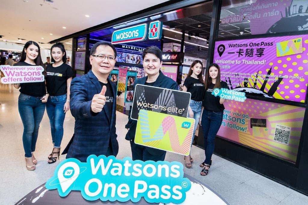 """""""วัตสัน""""ชู""""Watsons One Pass"""" ดึง8ตลาดเอเชียร่วมมัดใจลูกค้า"""