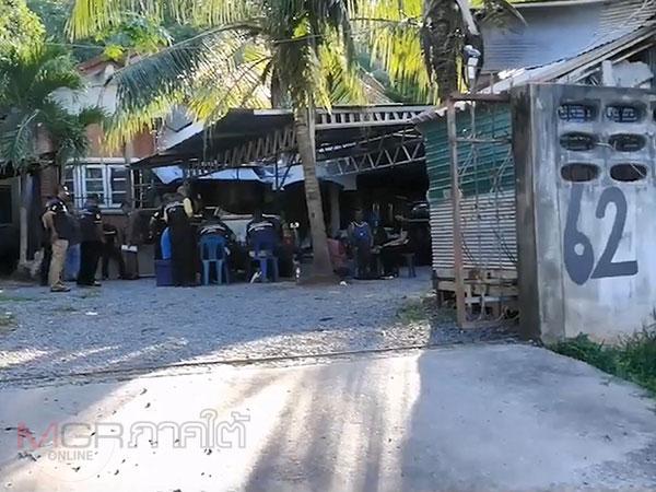 ปคม.เข้าตรวจค้นแคมป์คนงานก่อสร้างในสงขลา สถานที่ที่เด็กหญิงวัย 14 ปีถูกข่มขืน