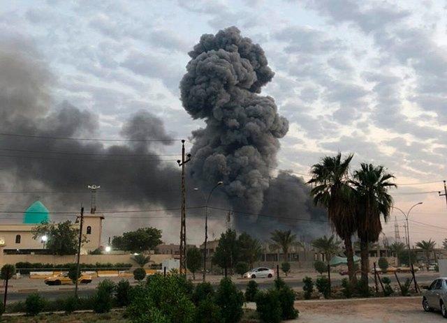 """อิสราเอลทิ้งบอมบ์ """"คลังอาวุธ"""" ในอิรัก คาดเป็นของกลุ่มโปรอิหร่าน"""