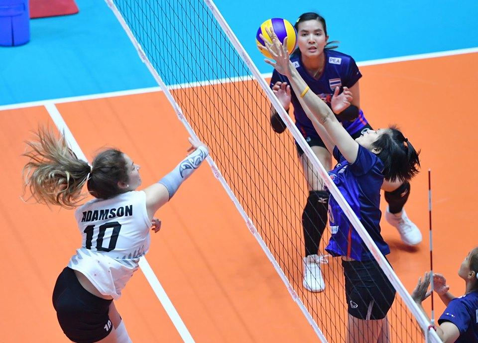 ทัพลูกยางสาวตีตั๋ว 8 ทีมคัดโอลิมปิก 2020 โซนเอเชีย