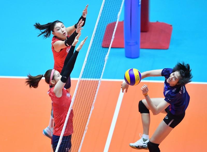 เกาหลีใต้ ข่มขวัญ สาวไทย 3-1 ก่อนคัดโอลิมปิก