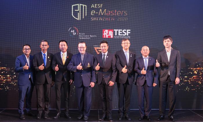 "TESF เตรียมส่งนักกีฬาลุยศึกอีสปอร์ตระดับนานาชาติ ""AESF e-Masters 2020"""