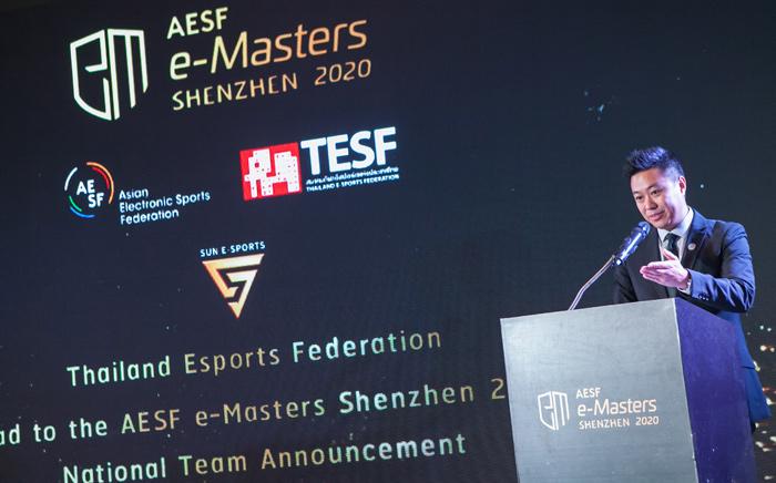 Mr. Sebastian Lau AESF Director General