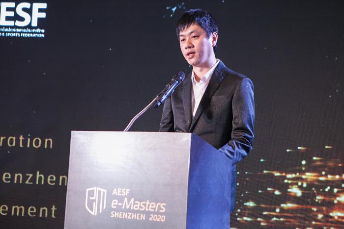 Mr.Pei Le Founder & CEO Banana E-sport /WE E-sport club/ACE Alliance