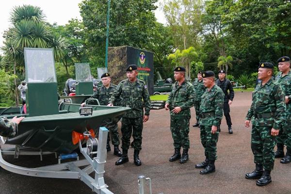 """กองทัพไทยเสริมเขี้ยวเล็บกองกำลังสุรสีห์"""" ปฏิบัติภารกิจป้องกันชายแดน"""