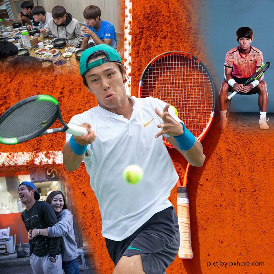 """""""ลี ดั๊ก ฮี"""" หนุ่มเกาหลีหัวใจแกร่ง หูหนวกก็ไม่หยุดเล่นเทนนิส"""