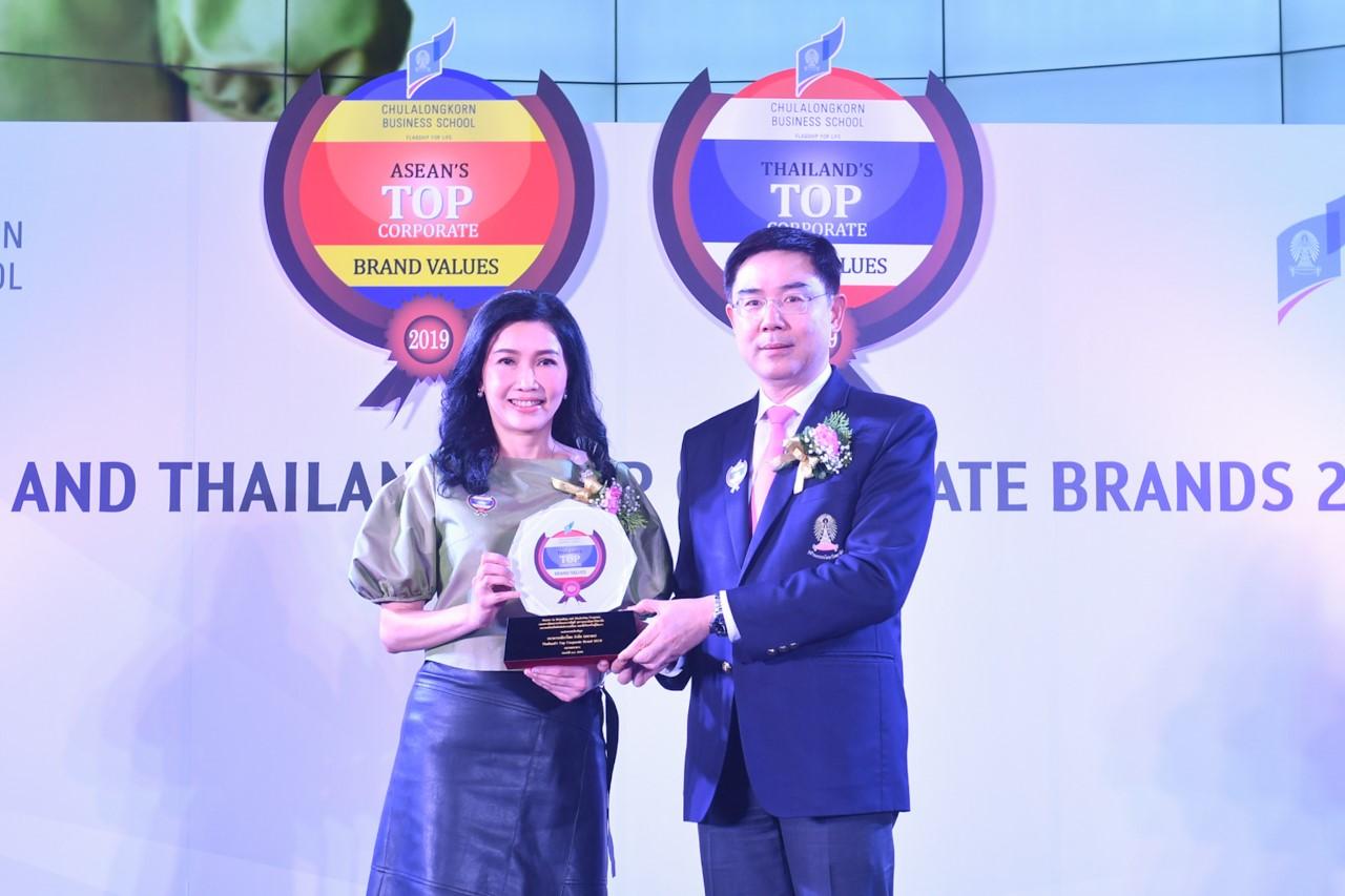 กสิกรไทยคว้ารางวัลThailand's Top Corporate Brands 2019