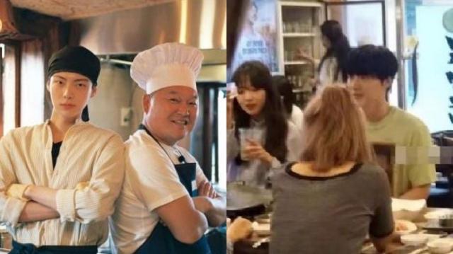 """ชาวเน็ตขุดคำแนะนำชีวิตคู่ของ """"คังโฮดง"""" ต่อ """"อันแจฮยอน"""" ทำเอาโดนด่าตรึม แถมแฉภาพฉลองวันเกิดกับสาวอื่น"""