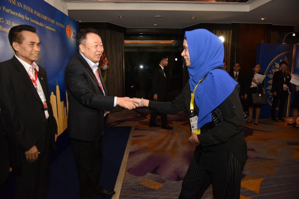 """""""สุชาติ"""" หวังชาติอาเซียนใช้เวที AIPA 2019 สานความร่วมมือระหว่างกัน"""