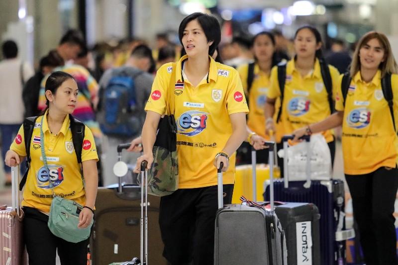 """ลูกยางสาว กลับไทย! """"โค้ชด่วน"""" เร่งปรับทัพ ชิงตั๋วโอลิมปิก"""
