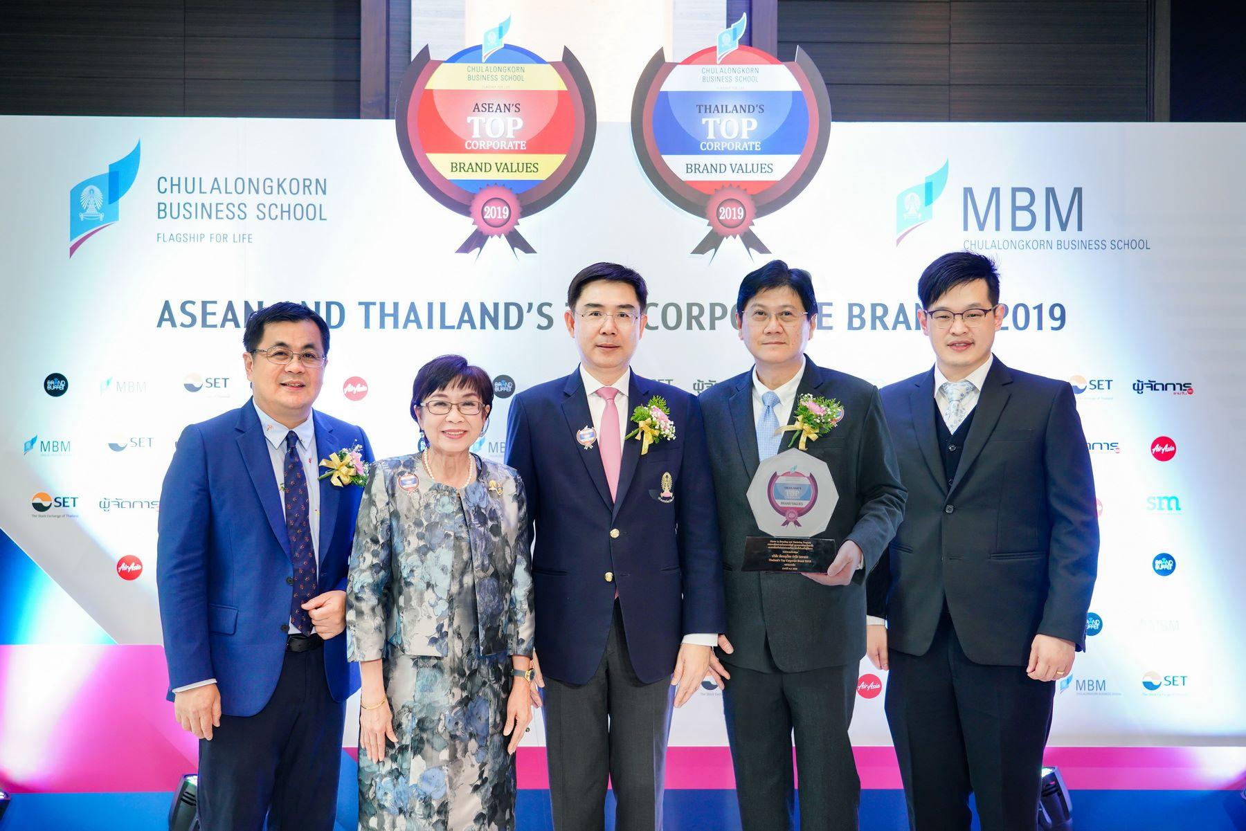 """เคทีซีคว้ารางวัล 2 ปีซ้อน องค์กรที่มีมูลค่าแบรนด์สูงสุดในหมวดการเงิน """"Thailand's Top Corporate Brand Value 2019"""""""