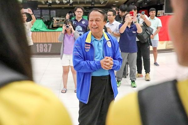 """วงการลูกยางไทยร่วมอาลัย คุณพ่อนายกฯ """"สมพร"""" ถึงแก่กรรม"""