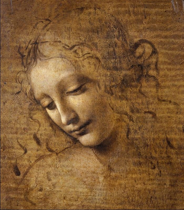 Testa di fanciulla (La scapigliata) - Parma, Pinacoteca Nazionale