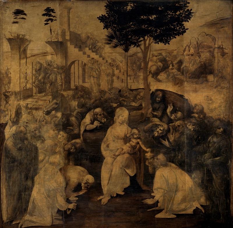Adorazione dei Magi - Firenze, Uffizi