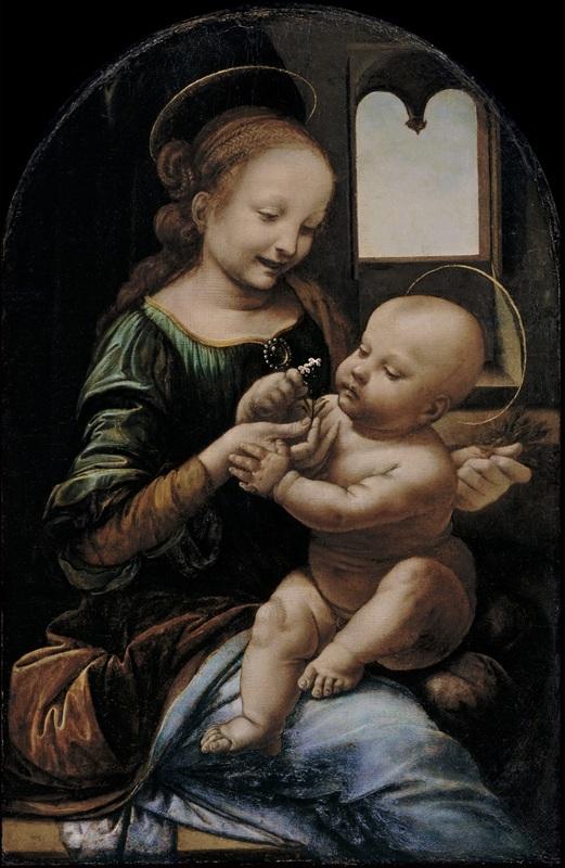 Madonna col Bambino (Madonna Benois) - San Pietroburgo, Ermitage