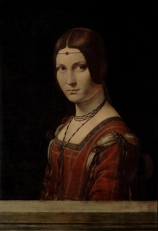 Ritratto di dama (La Belle Ferroni+_re) - Parigi, Louvre