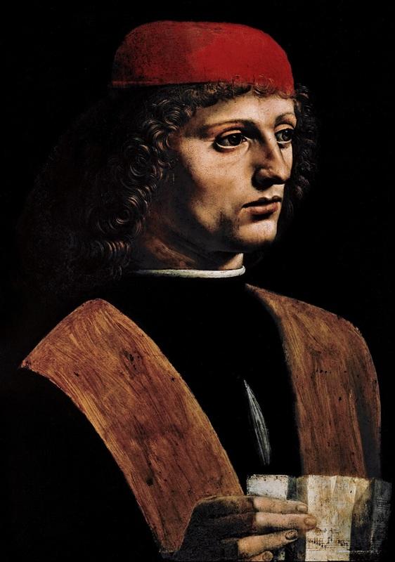 Ritratto di musico - Milano, Pinacoteca Ambrosiana