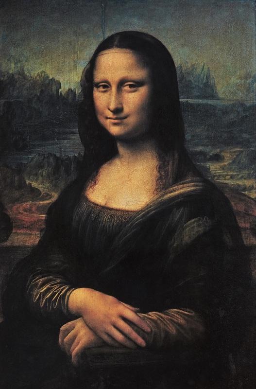 Ritratto di donna (La Gioconda o Monna Lisa) - Parigi, Louvre