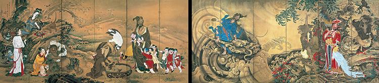 """ยลศิลป์ยินญี่ปุ่น """"เซียนจีนบนฉากญี่ปุ่น"""""""