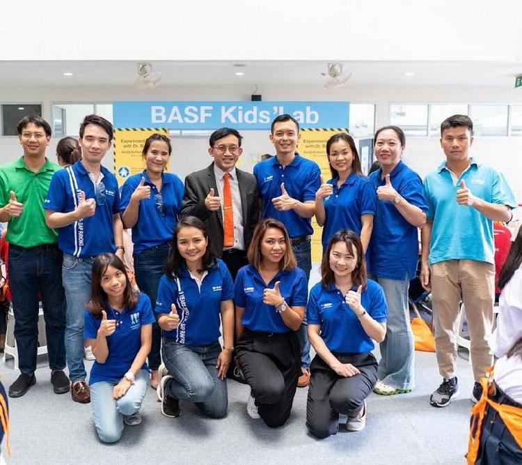 บีเอเอสเอฟ คิดส์แล็บ สนับสนุนการศึกษาด้านวิทยาศาสตร์ในประเทศไทย
