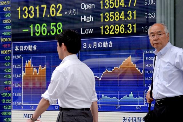 ตลาดหุ้นเอเชียบวกเล็กน้อย ขณะนลท.จับตาตลาดบอนด์สหรัฐ,ข้อพิพาทการค้าญี่ปุ่น-เกาหลีใต้