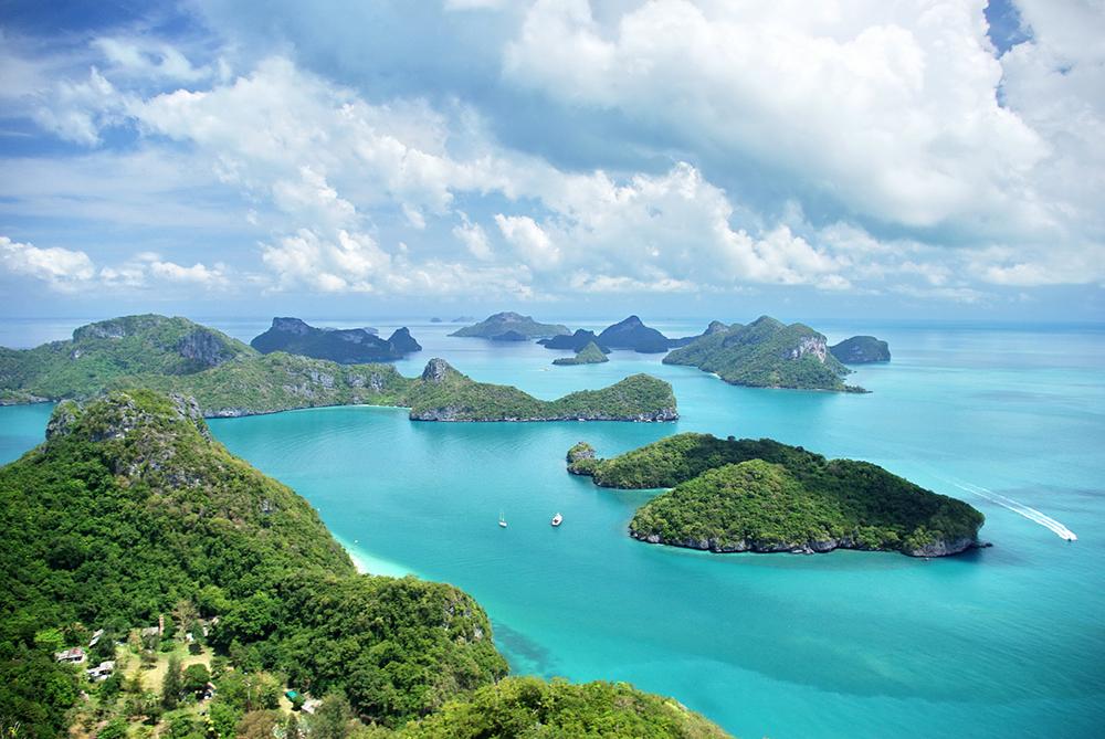 อช.หมู่เกาะอ่างทอง หนึ่งในว่าที่มรดกแห่งอาเซียนของไทย