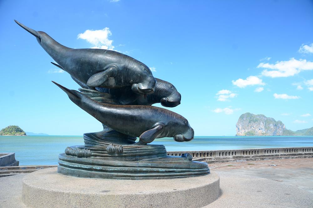 อช.หาดเจ้าไหม ถิ่นอยู่อาศัยของพะยูนแหล่งใหญ่ที่สุดของไทย