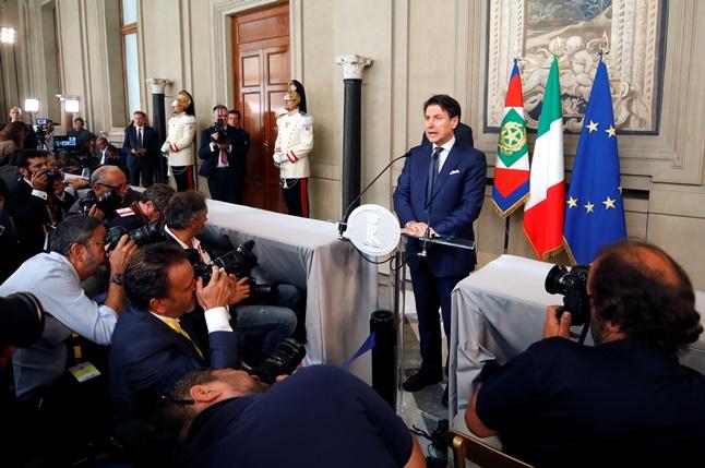 """In Clip: """"คอนเต"""" รับคำสั่งปธน.อิตาลีให้จัดตั้งรัฐบาลชุดใหม่ที่ไม่มี """"มัตเตโอ ซาลวินี"""""""