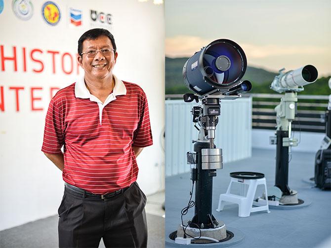 คมสัน โอ๊ยนาสวน ผู้ช่วยผู้จัดการฝ่ายกิจการสัมพันธ์ บริษัท เชฟรอนประเทศไทยสำรวจและผลิต จำกัด สำนักงานสงขลา