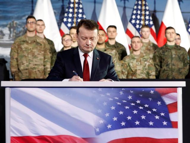 โปแลนด์เห็นพ้อง 6 สถานที่ประจำการทหารอเมริกันเพิ่ม