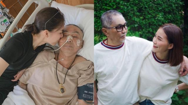 """""""จันจิ"""" ใจสลายสูญเสียพ่อหลังป่วยด้วยโรคไบโพลาร์"""