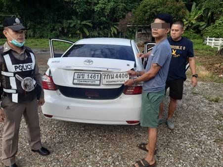 รวบหนุ่มบุรีรัมย์คาด่านฯกิ่วทัพยั้ง พบขับเก๋ง-พกทะเบียนเปลี่ยนตระเวนลักทรัพย์ทั่วไทย