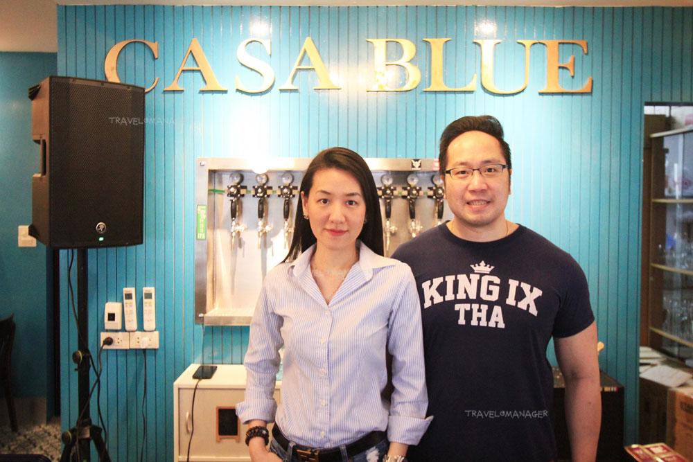 เจ้าของร้าน CASA BLUE