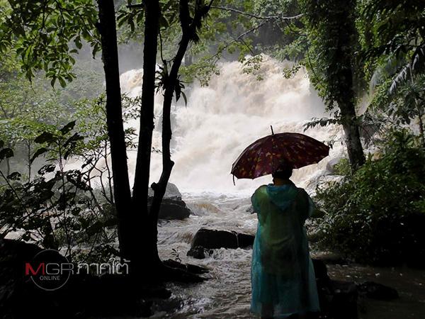ฝนตกหนักบนเทือกเขาบรรทัดแจ้งเตือนห้ามเข้าน้ำตกทุกแห่งใน 6 อำเภอ จ.ตรัง (ชมคลิป)
