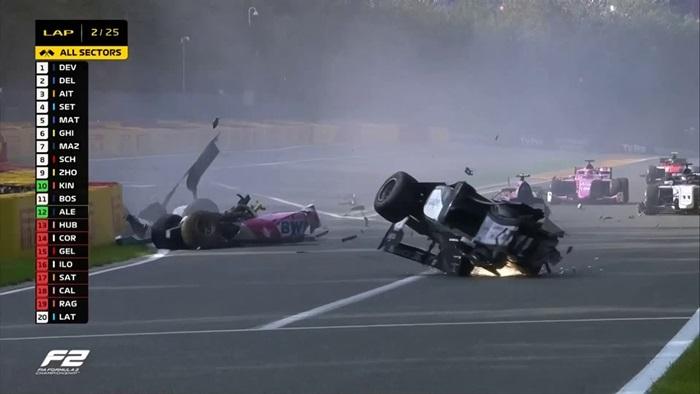 """(คลิป) สลด """"นักซิ่ง F2"""" รถเกี่ยวคู่แข่งก่อนถูกชนเสียชีวิต"""