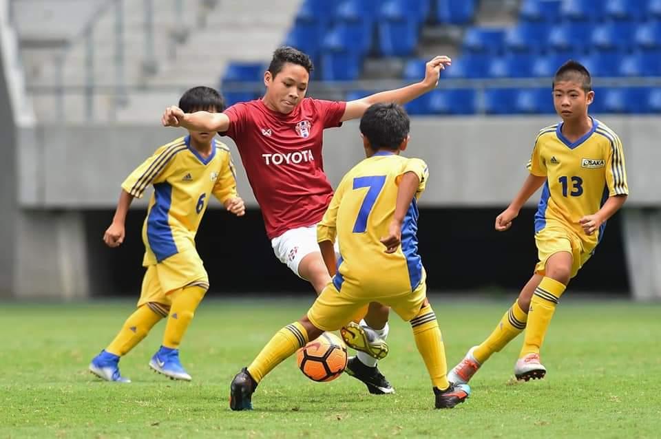 """""""โตโยต้า ไทยแลนด์ U-12"""" เฉือน """"เจเอฟเอ"""" 2-1 คว้าที่ 3 ศึก """"U-12 Junior soccer world challenge 2019"""""""