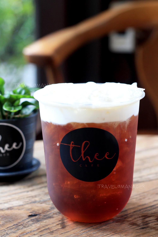 Cold Brew Black Tea Macchiato