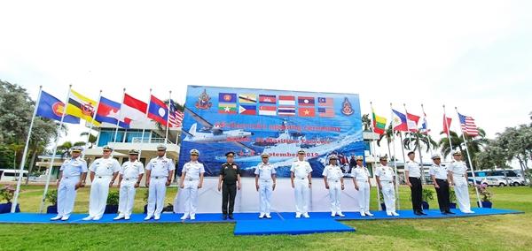 เสนาธิการกองเรือยุทธการ เปิดการฝึกผสมกองทัพเรือ 11 ประเทศ