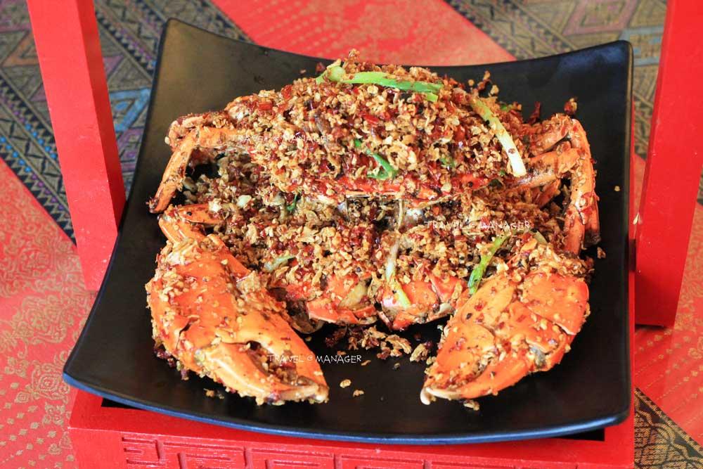 ปูผัด Spicy Crab