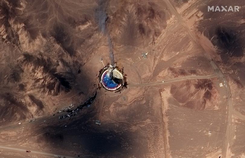 สหรัฐฯคว่ำบาตรโครงการอวกาศของอิหร่าน จับพิรุธจากเหตุจรวดระเบิดคาฐานยิง