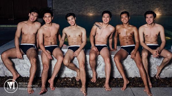 (ชมภาพ) ซี๊ดมาก! หนุ่มๆ Mister International Thailand 2019 โชว์หุ่นแซ่บในชุดว่ายน้ำ