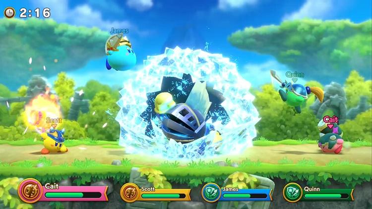 """อ้วนกลมตะลุมบอน! """"Super Kirby Clash"""" เปิดเล่นฟรีบน Switch"""