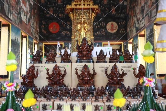18เกจิดังประกอบพิธีมังคลาภิเษกพระพิฆเนศวร 108 ปีกรมศิลป์