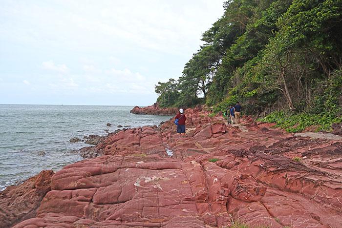 ลานหินสีชมพู จ.จันทบุรี