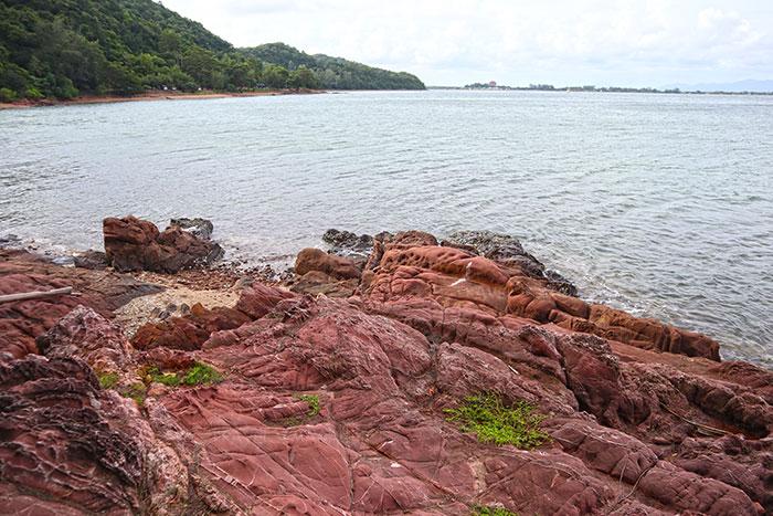 หินสีชมพูสุดโรแมนติก