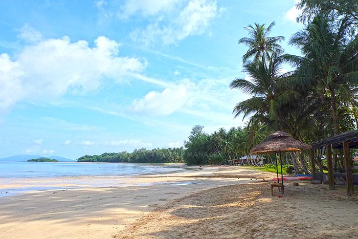 ความสวยงามของเกาะหมาก