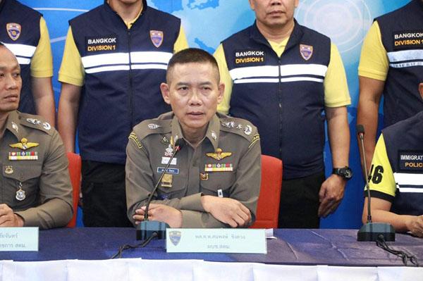 """""""บิ๊กอู๊ด""""แถลงจับหนุ่มใหญ่แดนกิมจิ หนีหมายจับตร.สากล ลวงเหยื่อทำธุรกิจจัดแรลลี่ทริป ซุกไทย"""