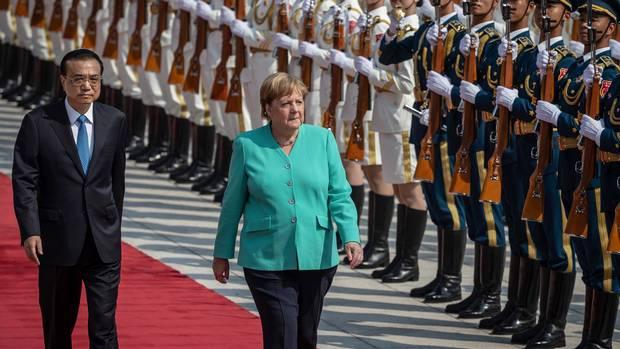"""ผู้นำเยอรมนีลั่น! ชาวฮ่องกงต้องได้รับการรับประกัน """"เสรีภาพ"""""""
