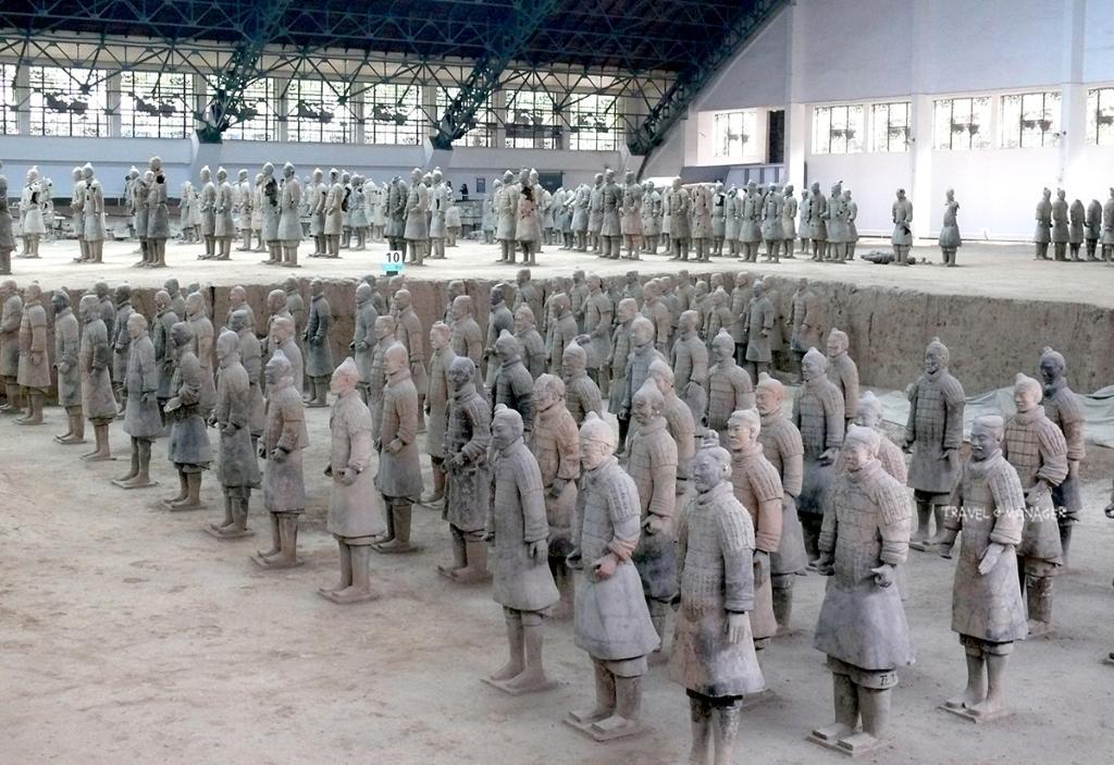 กองทัพทหารดินเผาที่เชื่อว่าจะเดินทางไปรับใช้จิ๋นซีฮ่องเต้ในปรโลก