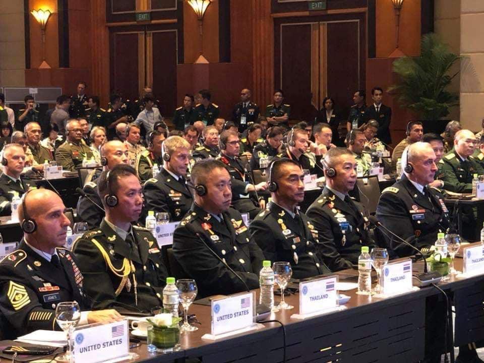 """กองทัพบกเตรียมเป็นเจ้าภาพร่วม จัดประชุมกรอบกองทัพกลุ่มประเทศภาคพื้นอินโด-แปซิฟิก """"บิ๊กตู่"""" ร่วมเปิดงาน 9 - 11 ก.ย.นี้"""